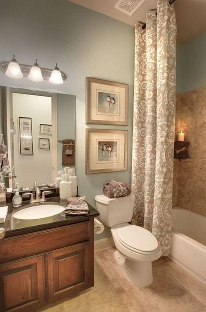 80 Luxury Small Bathroom Decorating Ideas Bathroom Color