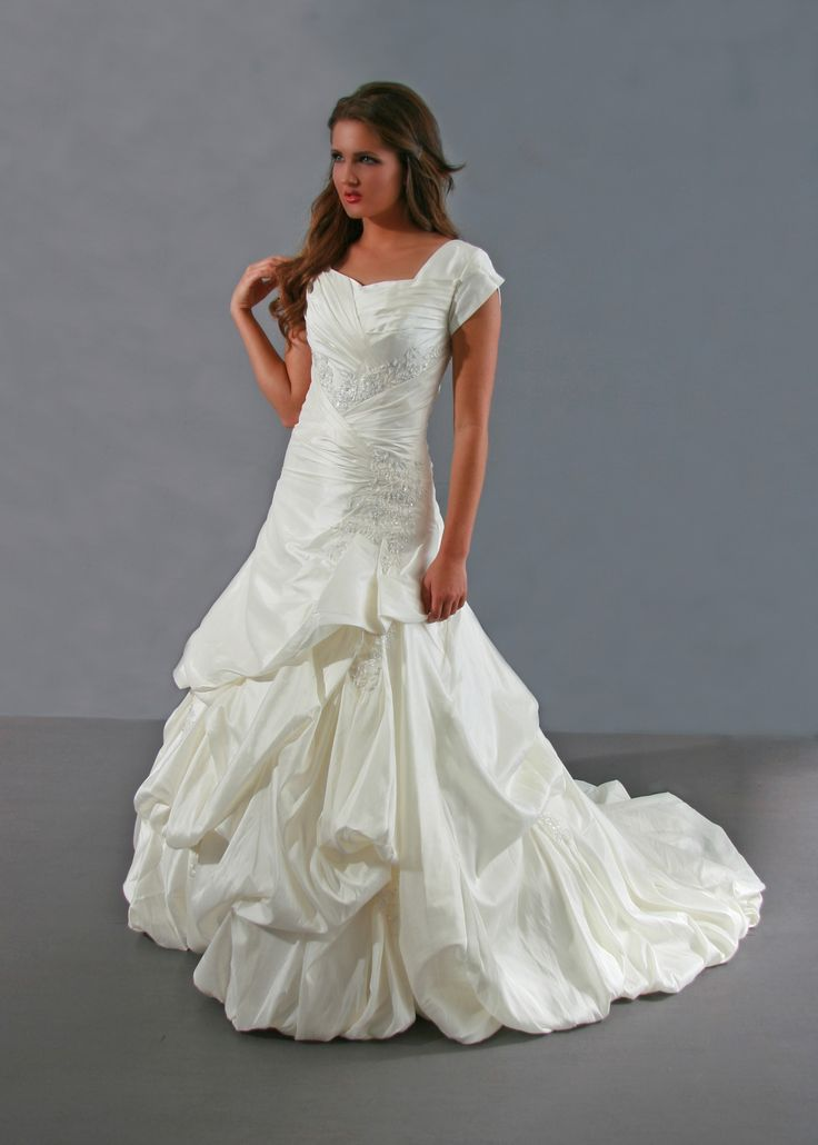 New Modest Wedding Dress from Margene us Bridal