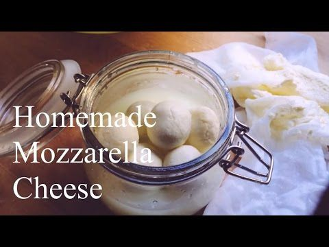 How to make Mozzarella Cheese: A step by step, video tutorial.