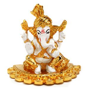 Divine Ganesha Idol Gift your loved ones this beautiful art piece of Lord Ganesha in terracotta with 24kt gold coating. Rs. 2,335 ($38.27) http://www.tajonline.com/diwali-gifts/product/d3944/divine-ganesha-idol/?aff=pint2013/