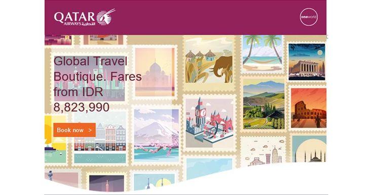 Global Travel Boutique with Qatar Airways #QatarAirways #Qatar #BaliPlusMagazine #BaliMagazine #BaliPlus #Magazine #BaliPlusInYourHand #Bali