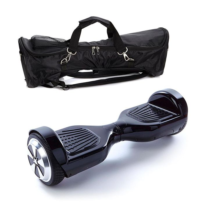 AIR RIDE Pro Self-Balancing Electric-Powered Hoverboard with Backpack Bag - Black