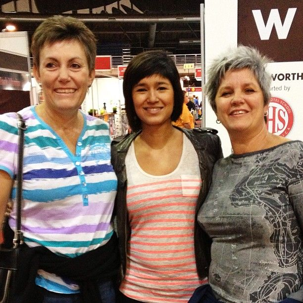 Meeting Kamini at the Good Food & Wine Show