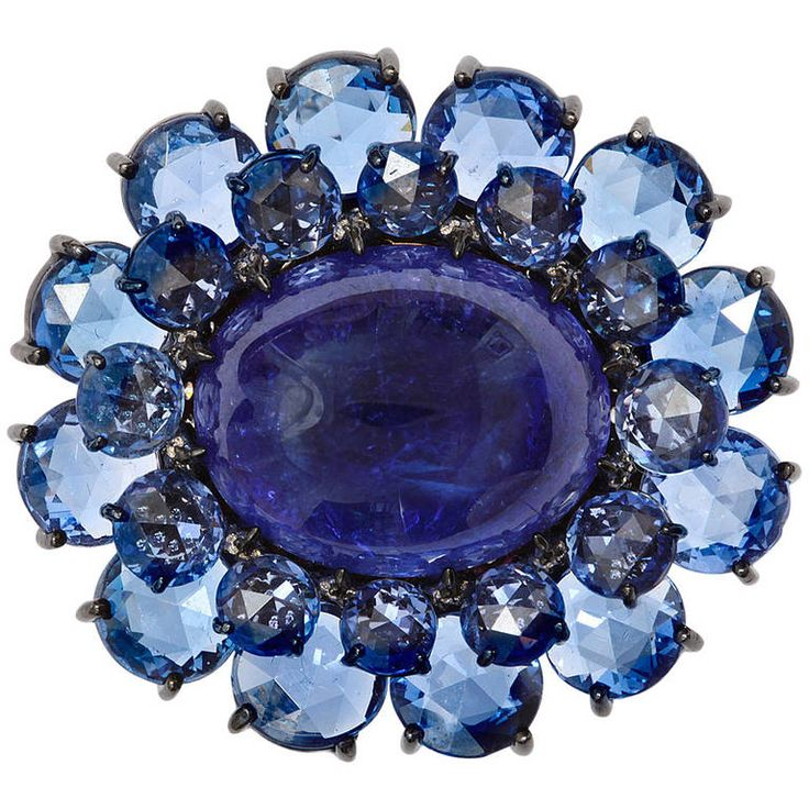 flawless grade piece sapphire trillion gem listing aaa il fullxfull collectors rare blue large tanzanite
