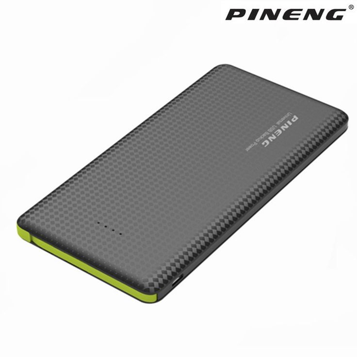 Pineng Power bank for xiaomi Mi Ultra Slim 10000mAh Powerbank Portable External Battery for iPhone 5 6 7 SE Samsung Mobile Phone #Affiliate
