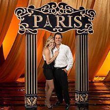 PARIS ARCH * Paris theme party decor * photo opp. *
