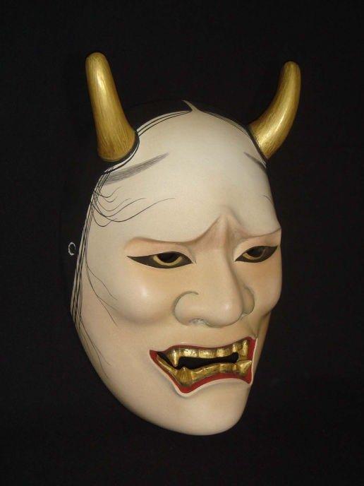NOH   Costum Order Noh mask Namanari-3
