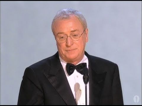 Michael Clarke Duncan looked so psyched to win the Oscar...until he realized they said Michael Caine.