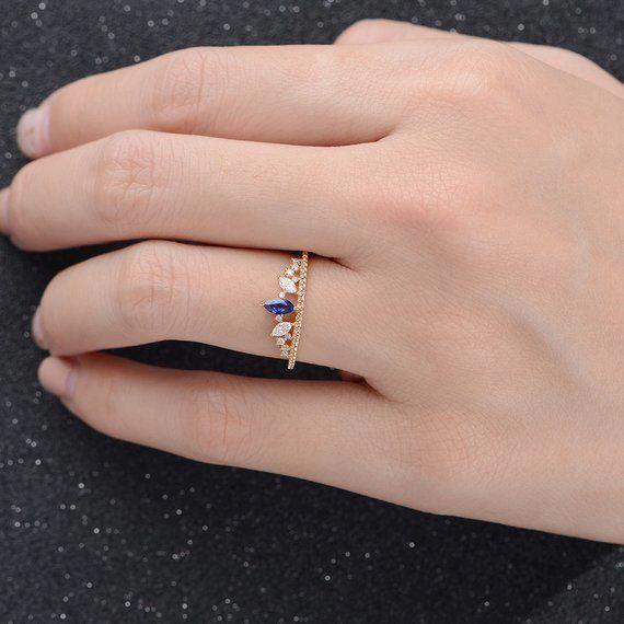 Engagement Rings Sapphire Unique Engagement Rings Rose Gold Engagement Ring Vinta In 2020 Engagement Rings Sapphire Unique Engagement Rings Vintage Engagement Rings