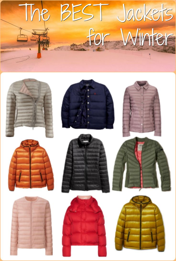 You'll need a good winter jacket this year. Check out our recommendations!