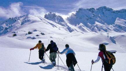 Winterwandern im Tiersertal - Dolomiten - Bewegte Wege