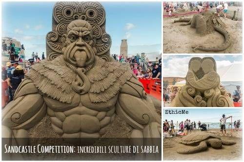 Sandcastle Competition: incredibili sculture di sabbia [FOTO]