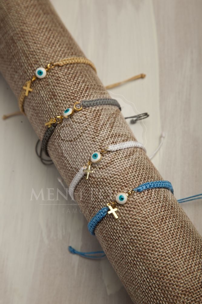 Knitted bracelet martyrika - witness pins in various colours