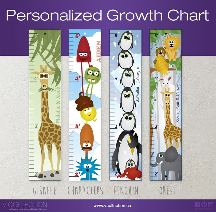vcollection.ca : Personalized Growth Chart. Perfect Mommy to be gift.