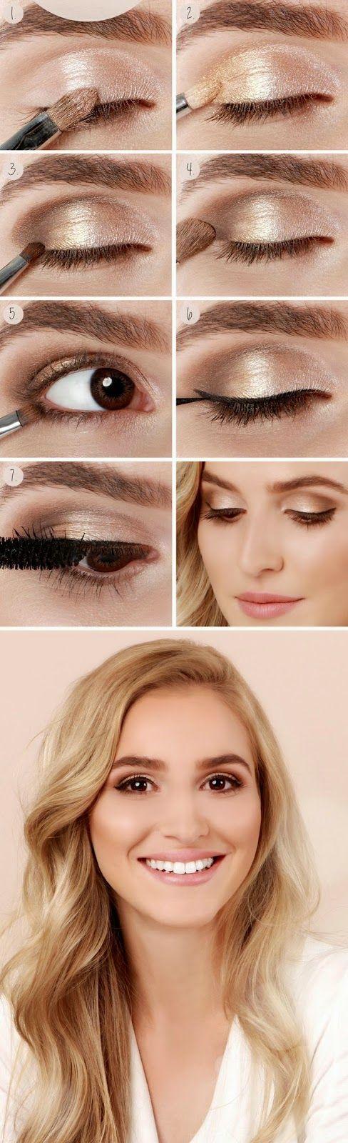 Aprende cómo resaltar tus ojos marrones con éstos increíbles pasos.