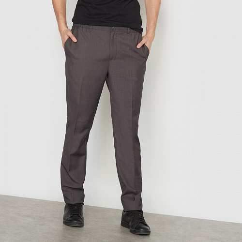Prezzi e Sconti: #Pantaloni taglio dritto Blugrigio  ad Euro 14.83 in #R edition #La redoute uomo abbigliamento