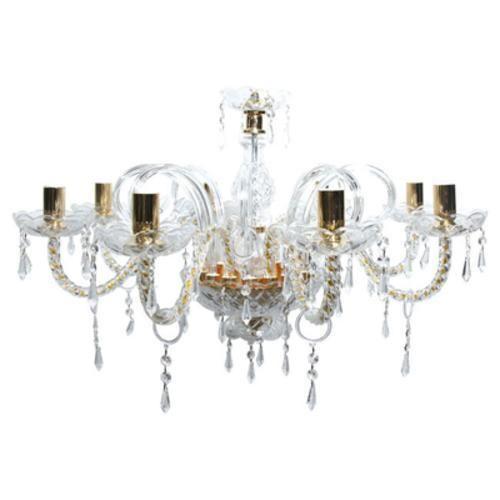 #Lampadario classico 8 luci lampada a  ad Euro 331.90 in #Senza marca #Hi tech ed elettrodomestici
