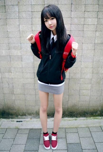 korean school girl