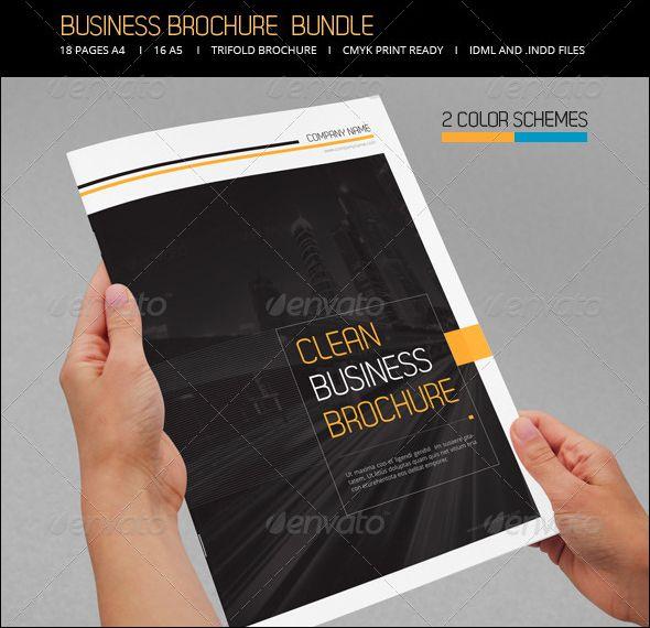Business Brochure Bundle PSD