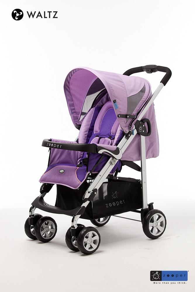 Zooper Waltz in Butterfly Purple Stroller, Baby