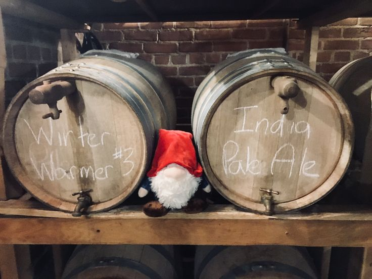 Nothing beats a combination of Christmas, history, and beer! This little gnome has stumbled upon our brew master's newest ale .. the Winter Warmer!