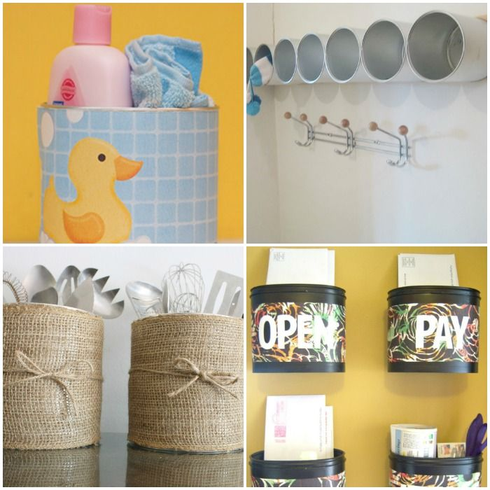 15 Brilliant Things to Do with Old Formula Canisters                                                                                                                                                                                 More