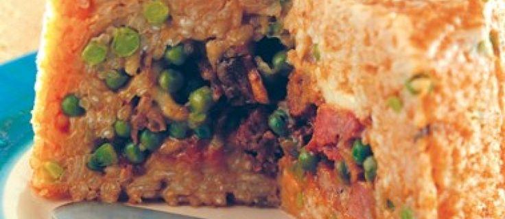 Timballo di riso napoletano: buona la seconda | ècampania