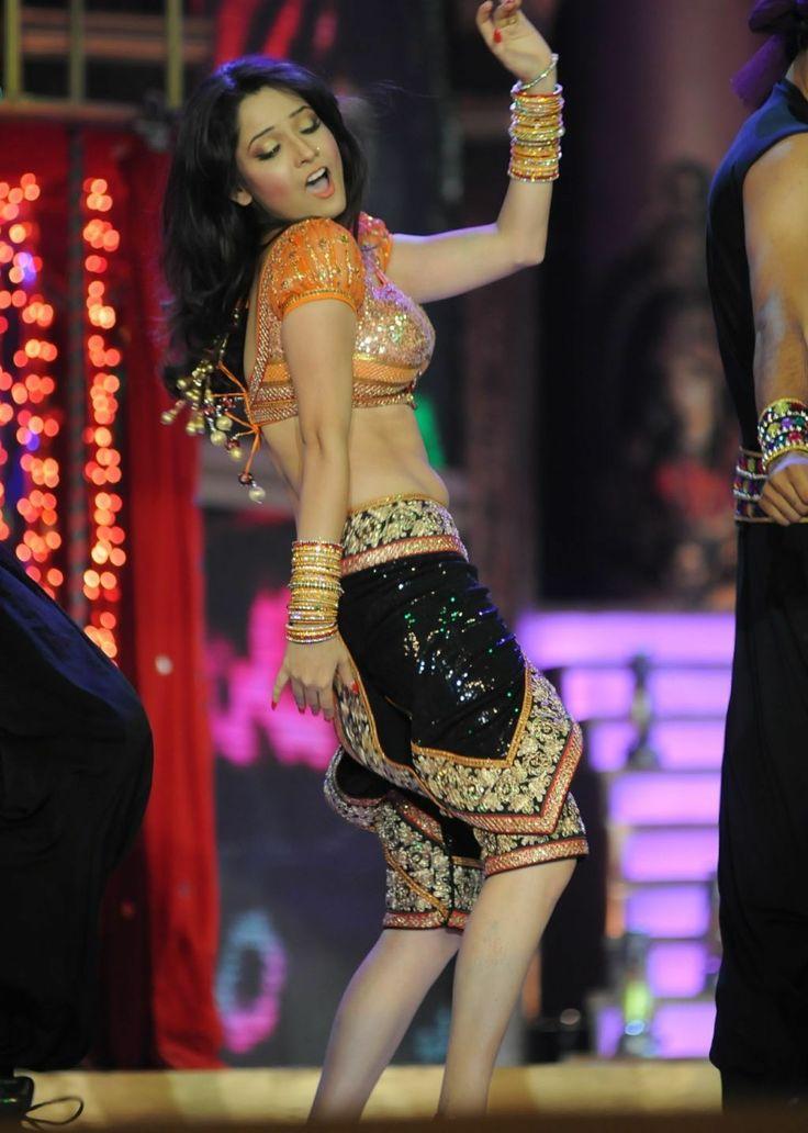 Hot and sexy TV Actress frompavitra rishta serialAnkita lokhandenavel pics  photosand wallpapers.