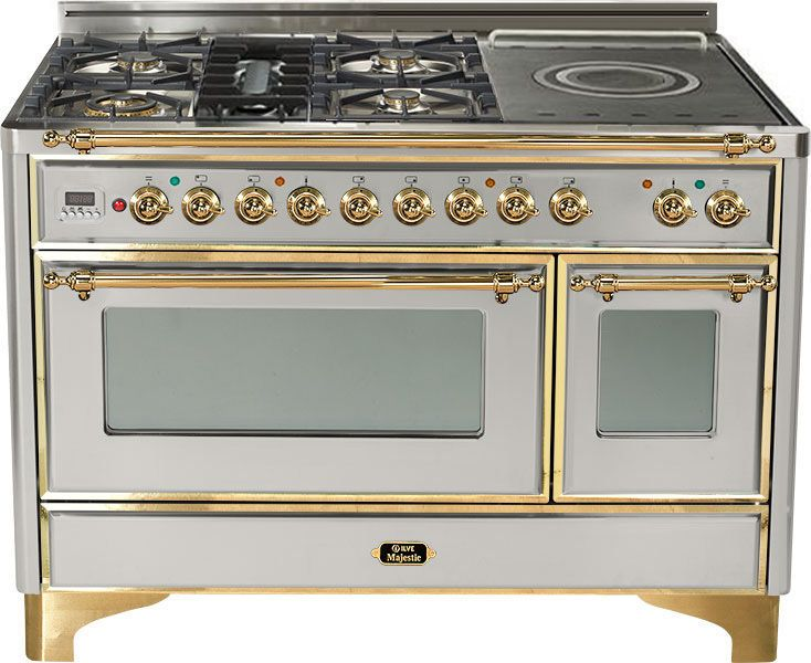 Ilve Stove in brass and stainless - Bluff Diaries Chapter 3 - The Enchanted Home