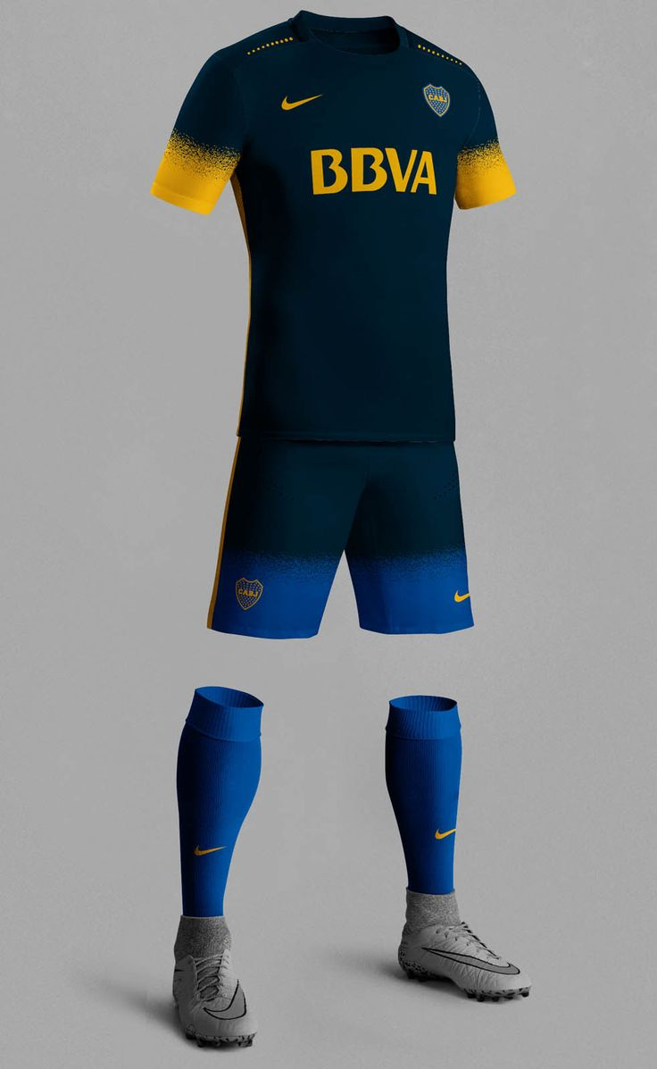 Unique #Nike 15-16 Third Kit Concepts by Dorian from La Casaca | Boca Juniors