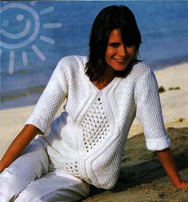 пуловер    NÁVOD