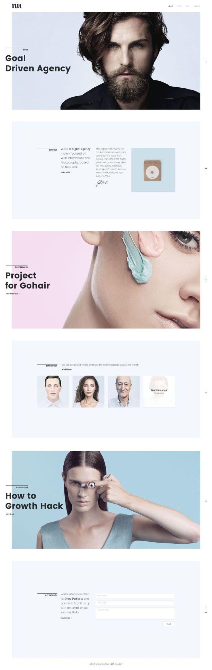 Adios Web Design Inspiration