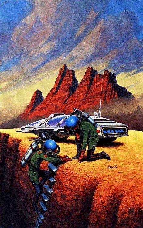 Darrell K. Sweet - David Starr, Space Ranger, 1970's