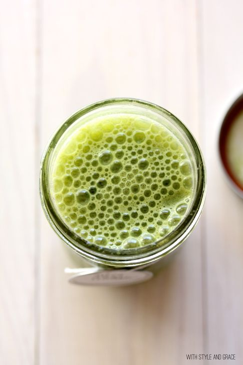 Green Refresher Juice - you can just taste the health!