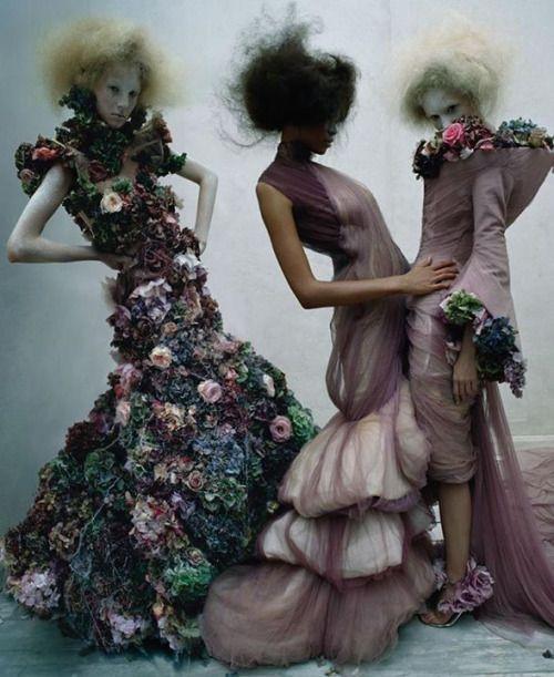 'Dark Angel - Alexander McQueen' by Tim Walker