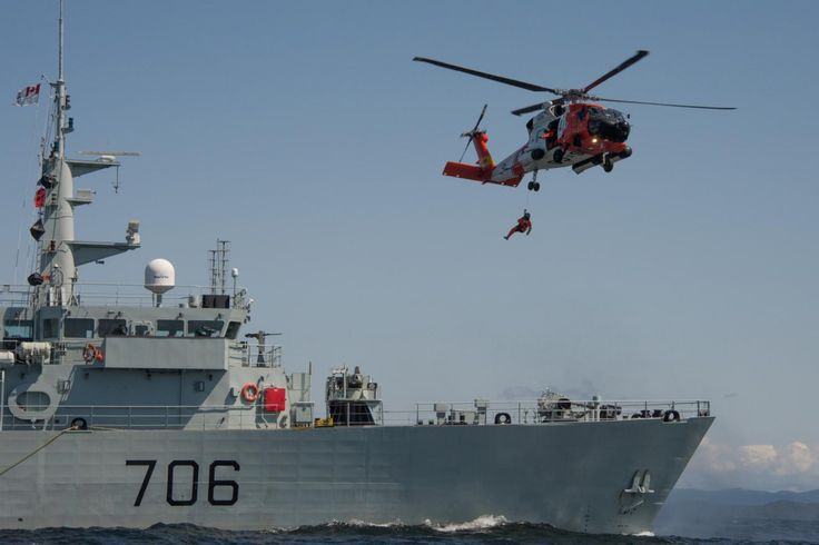 how to become a coast guard canada