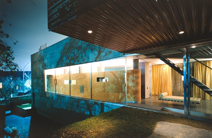 Villa Dall'Ava, St Cloud   Paris, France   OMA/Rem Koolhaas   Peter Aaron Architectural Photography
