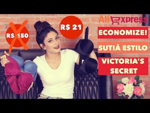 Comprinhas no Aliexpress: Sutiãs push up estilo Victoria's Secrets por ...