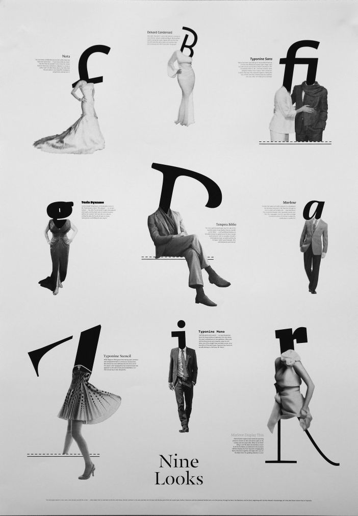 Graphic #font #women, this is just grabbing my attention as an abstract concept. Nice layout balance.