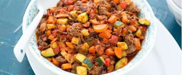 chili con carne zonder bonen