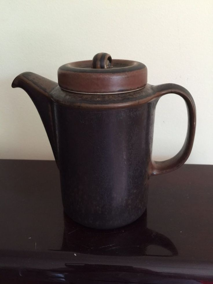 �� VINTAGE MID CENTURY ARABIA RUSKA WARE COFFEE TEA POT