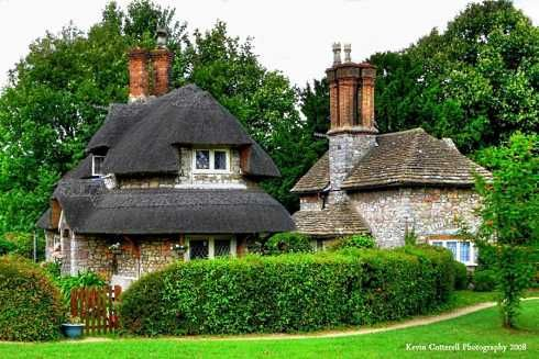 Storybook Cottage Designs . . . The Fabulous Cottages Of Blaise Hamlet!
