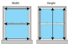 Do you know how to measure for replacement windows? We can help! #windows #energyefficiency