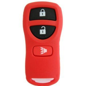 2002 2003 2004 2005 2006 02 03 04 05 06 NISSAN FRONTIER ***UNIQUE RED*** 3 BUTTON REMOTE FOB CLICKER KEYLESS ENTRY WITH FREE PROGRAMMING AND FREE DISCOUNT KEYLESS GUIDE by Nissan. $10.71. This listing is for the vehicles mentioned in our key product features list only. Your remote will arrive in a bubble pack mailer to ensure a safe trip while in the mail.  Also included is our Discount Keyless guide and a business card in case you have any issues with your pr...