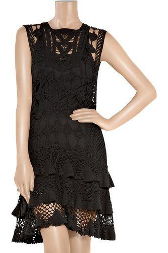 Маленькое черное платье крючком от Diane von Furstenberg