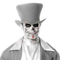 Gray Ghost Bräutigam Hat - Kostüm Hüte