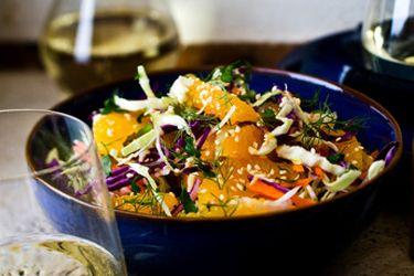 Fennel and orange slaw – Recipes – Bite