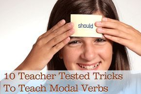 Teaching modal verbs can be a challenge, especially to beginning teachers who don't have enough experience. Before teaching them, however, be sure to know what a modal verb is. It is a