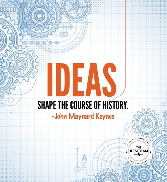 Ideas shape the course of history | Julian Pencilliah Inspire #Ideas #History #Quotes