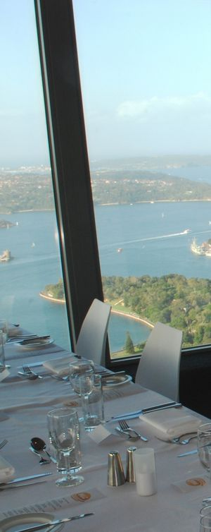 View from the Revolving Restaurant at the top of Centrepoint Tower, also known as Sydney Tower, NSW, #Australia. #SydneyTower